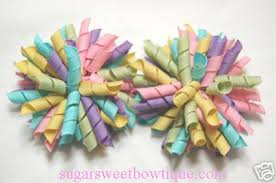 easter hair bows pastel candy korker bow jpg