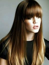 front fringe hairstyles 22 best front bangs styles images on pinterest wedding hair