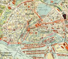 Map Of Hamburg Germany by Hamburg 1930 Full Size