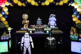 Glow In The Dark Party Decorations Ideas Kara U0027s Party Ideas Star Wars Glow In The Dark Birthday Party