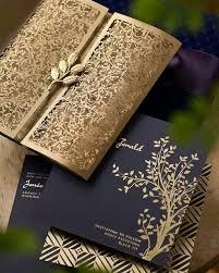 wedding card ideas that give wedding invitation a charm of