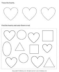 9 best images of heart shape worksheets heart tracing worksheets