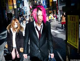 japan red light district tokyo pink haired blue eyed japanese host tokyo times