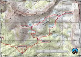 Map Of Northern Utah by Hiking Naturalist Basin Western Uintas Road Trip Ryan