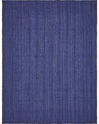 8 X 12 Area Rugs Sale Get The Deal Unique Loom Braided Jute Collection Navy Blue 9 X 12
