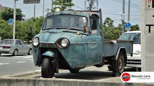 mazda truck spotted a three wheel truck the mazda t1500 1962 youtube