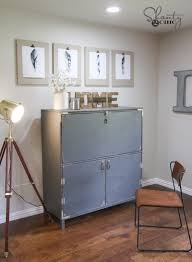 Shabby Chic Secretary Desk by Diy Flip Top Secretary Desk As Seen On Hgtv Open Concept Shanty