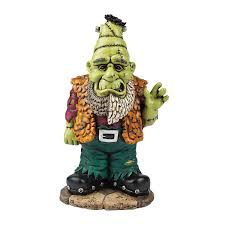 Patio Lawn And Garden Amazon Com Halloween Frankenstein Frankengnome Lawn Garden Gnome