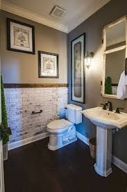 bathroom accents ideas i like the idea of a brick accent wall in bathroom remodeling within