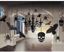 Party Chandelier Decoration 17 Haunted House Black Chandelier Cutouts Prop Party Decoration