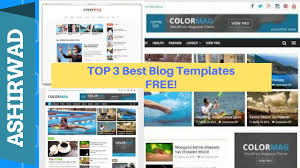 top 3 best blogger templates free that helpful for seo