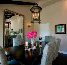 dining room mirror dining room transitional with round dining