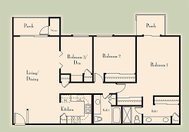 3 Bedroom Apartments In Phoenix by Phoenix Apartments Floor Plans Villages At Metro Center
