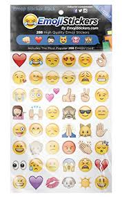 Most Popular Amazon Amazon Com Emojistickers Most Popular Emojis 288 Pack