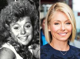 kelly ripa hair style it s kelly ripa s birthday see her transformation instyle com