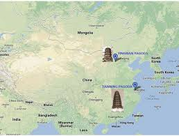 Yuan Dynasty Map The Wooden Pagodas Of China Chrispy Thoughts