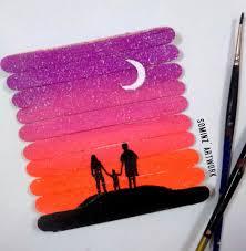 painting on ice cream sticks diy tutorials u0026 craft ideas