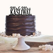 mr mrs cake topper personalised mr mrs cake topper