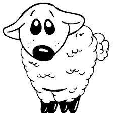 31 sheep images sheep coloring kids