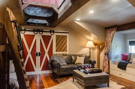 Barn Style Interior Design Tour This Playful And Functional Barn Style Kids U0027 Room Hgtv U0027s