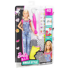 Barbie Style Doll Reviews And by Buy Fun Station U0027s Barbie Diy Emoji Style Doll Online At Best Price
