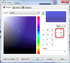 problem converting color from rgb to cmyk for print graphic