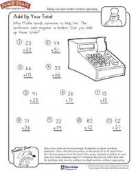 csmp 1st grade math problems 2 sample pages math and