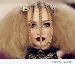 junior bridesmaid hairstyles braids fluffy hairstyle
