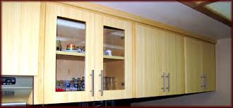 Kitchen Cabinets With Glass Furniture Wooden Kitchen Cabinet Refacing With Silver Handle