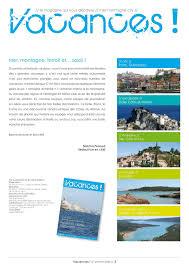 siege social et vacances magazine vacances n 6 calameo downloader