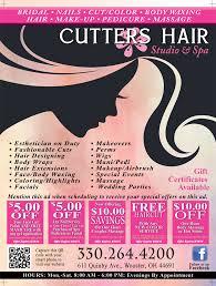specials u2013 cutters hair studio u0026 spa