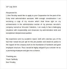 admin assistant cover letter administrative assistant cover