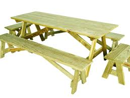 Table Gratifying Round Picnic Table Woodworking Plans Famous by Table Outdoor Tables Amazing Outdoor Wooden Tables Build A Patio