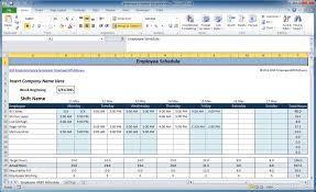 Excel Weekly Schedule Template Free Weekly Schedule Templates For Excel Smartsheet Dashboard