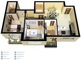 3 Bedroom House Design Enchanting 2 Bedroom House Plans And Designs Gallery Best Idea