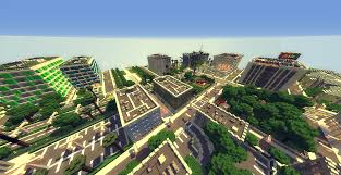 greenfield minecrafts most realistic modern city v0 4 6 wip