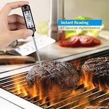 sonde de cuisine thermomètre de cuisine numérique lecture instantanée 5 secondes