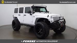 used jeep wrangler az 2017 used jeep wrangler unlimited at bmw scottsdale serving