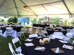 backyard wedding reception catering inspired anthro wedding