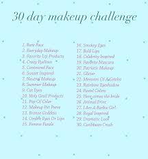 Doing Challenge Makeup Challenge The October S Cat