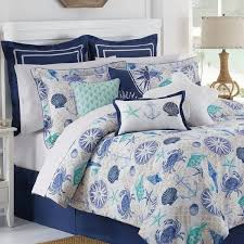 Starfish Comforter Set Royal Heritage Home Williamsburg Cotton 4 Piece Reversible