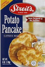 latke mix streit s potato pancake latkes mix 6 oz pack of 12 ebay