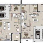 Duplex Floor Plans Australia Plans Duplex Corner Lot Australian Bedroom Designs Architecture