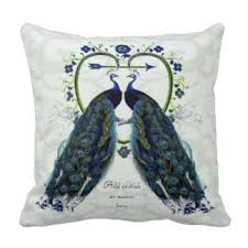theme pillows peacock theme pillows decorative throw pillows zazzle