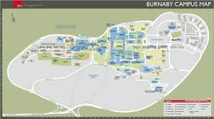 Columbia University Campus Map Maps Graduate And Postdoctoral Studies Simon Fraser University