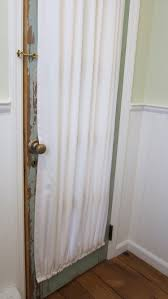 Curtain Rods French Doors Gathered French Door Curtain