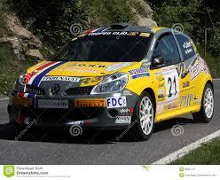 renault rally renault clio rally auto redactionele foto afbeelding 69901151