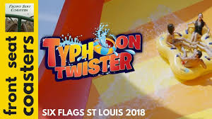 St Louis Six Flags Prices Typhoon Twister New For 2018 At Six Flags St Louis Promo Pov 60fps