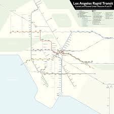 Union Station Los Angeles Map by Check Out This Measure M Explainer Video Urbanize La