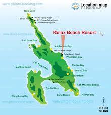 phi phi relax beach resort phi phi island in phi phi thailand